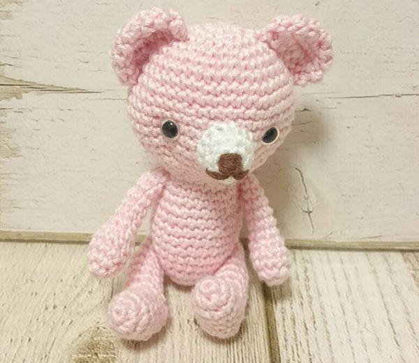 ピンクのくま ¥1,500